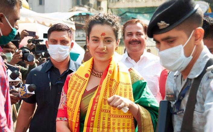 Kangana Ranaut Back In Mumbai