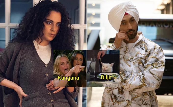 Kangana Ranaut Vs Diljit Dosanjh Gives Rise To Hilarious Memes(Pic credit: Instagram/diljitdosanjh, kanganaranaut)