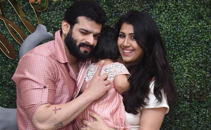 Divyanka Tripathi, Arjun Bijlani & More Celebs Shower Love On Karan Patel & Ankita Bhargava's Daughter Mehr's First Birthday