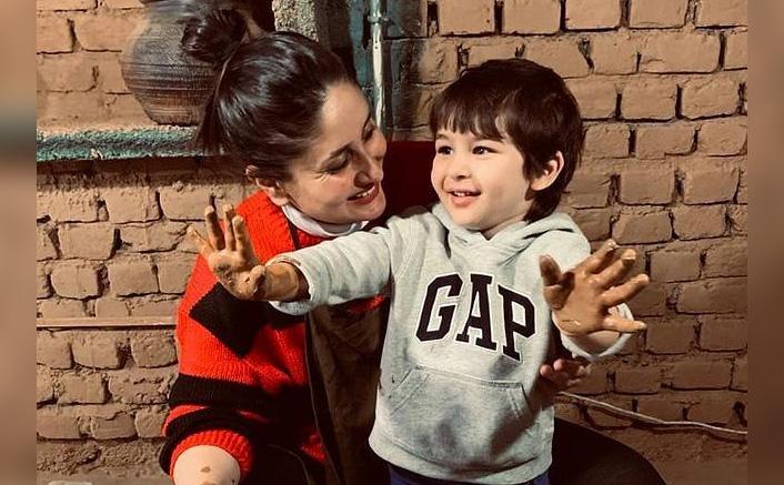 Kareena Kapoor Khan Feels Taimur Ali Khan Is A Ralph Lauren Model(Pic credit: Instagram/kareenakapoorkhan)