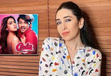 Karishma Kapoor shakes legs on 'Mirchi Lagi Toh' ahead of Amazon Prime Video's Coolie No. 1 release