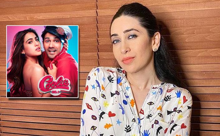 Karishma Kapoor shakes legs on 'Mirchi Lagi Toh' ahead of Amazon Prime Video's Coolie No. 1 release