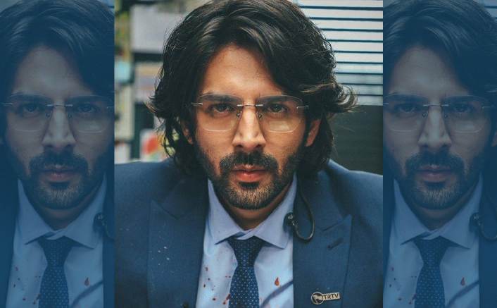 Kartik Aaryan Shares A Dhamakedaar Look As Arjun Pathak From Dhamaka!