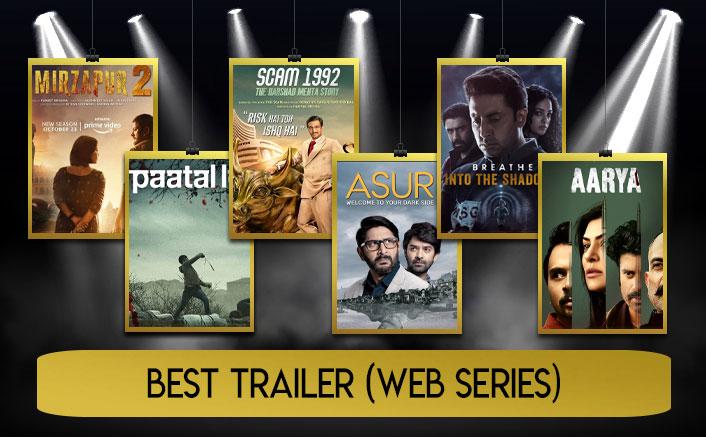 Koimoi Audience Poll 2020 For Best Trailer (Web Series)
