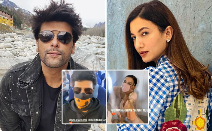 Kushal Tandon & Newly Married Gauahar Khan Bump Into Each Other In A Flight
