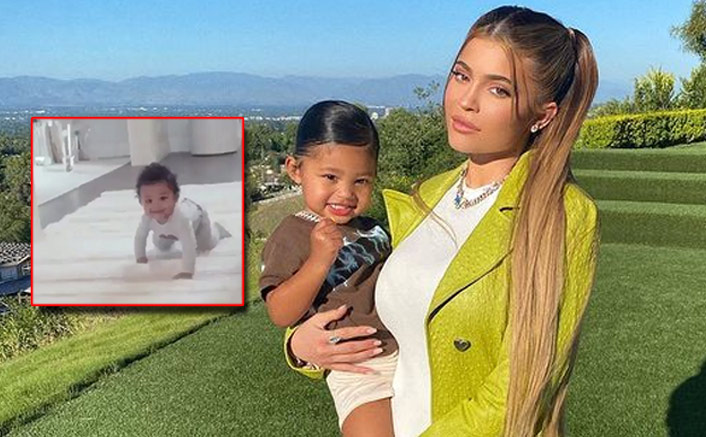 Kylie Jenner Shares A Cute Video Of Her Daughter Stormi Learning To Take His First Steps