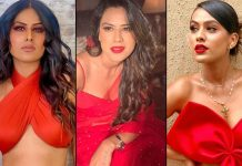 Looking For The Perfect Christmast 2020 Look? Go The Nia Sharma Way