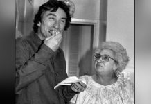 Martin Scorsese Gets Scolded By His Mother On The Sets Of Taxi Driver