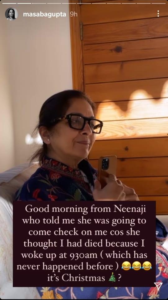 Masaba Gupta Insta Story
