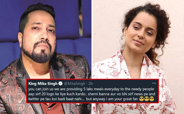 Mika Singh Trolls Kangana Ranaut Yet Again