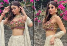Mouni Roy stuns in ethnic chic