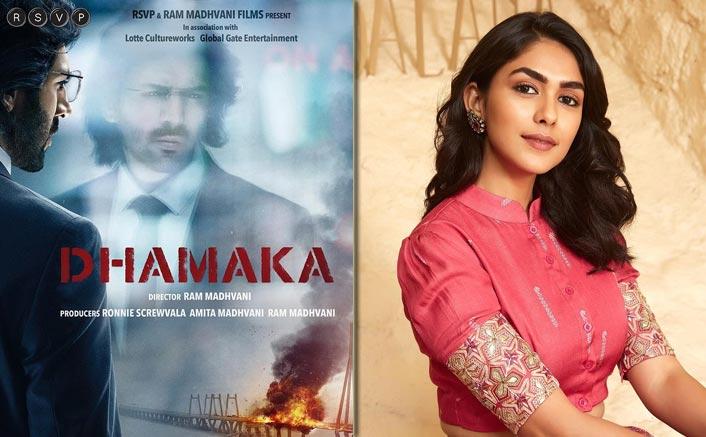 Mrunal Thakur To Work With Kartik Aaryan In Dhamaka