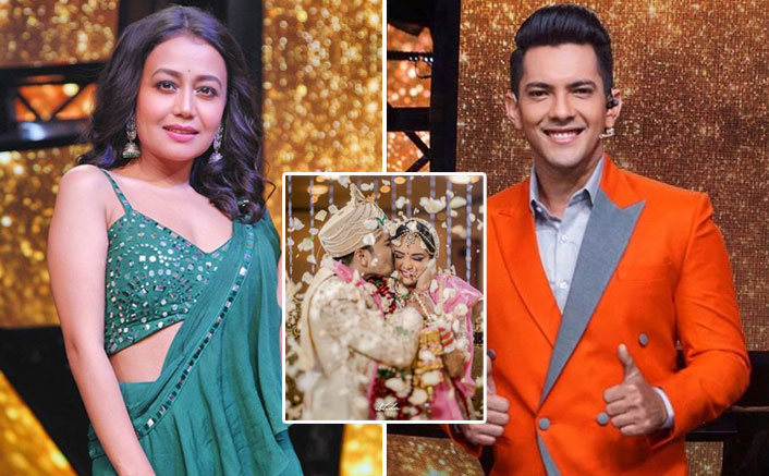 Neha Kakkar Comments On Aditya Narayan & Shweta Aggarwal's Wedding Picture