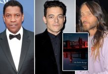 Oscar winners Denzel Washington, Rami Malek and Jared Leto in The Little Things