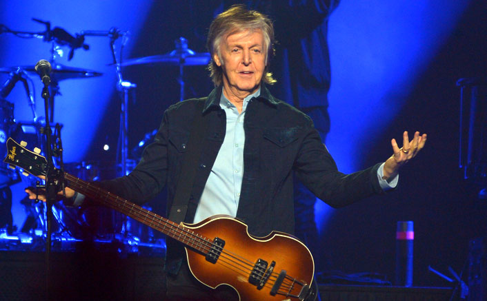 Paul McCartney says working on an album during lockdown saved him