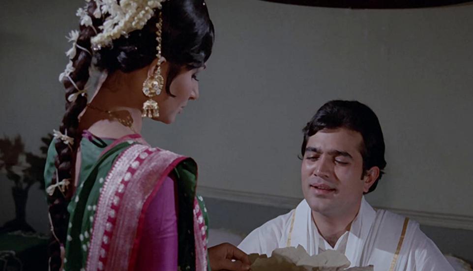 Rajesh Khanna In A Still From Amar Prem