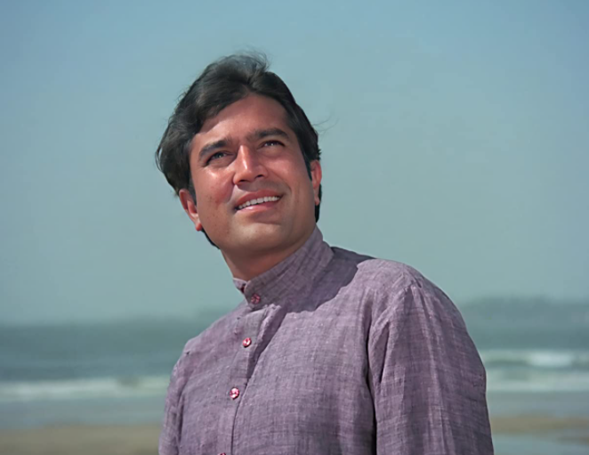 Rajesh Khanna In A Still From Anand