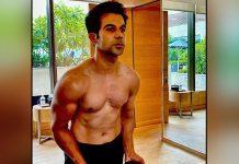 Rajkummar Rao posts pic of his all-new muscular look for 'Badhaai Do'
