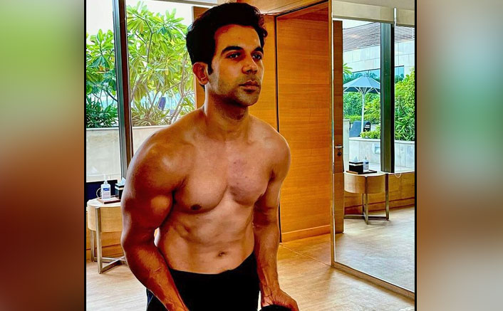 Rajkummar Rao Posts Pic Of His All-New Muscular Look For 'Badhaai Do'