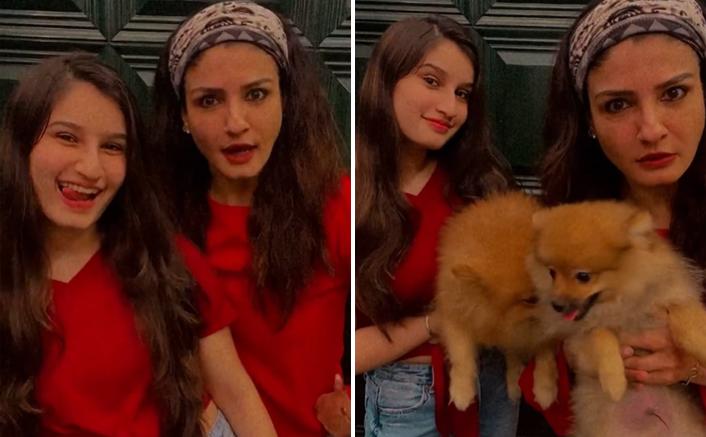 Raveena Tandon joins Shehnaaz Gill's 'Sadda kutta kutta' viral meme