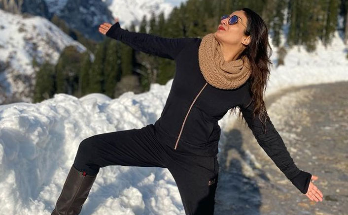Raveena Tandon turns 'Switzerlandkasharukh' in Himachal