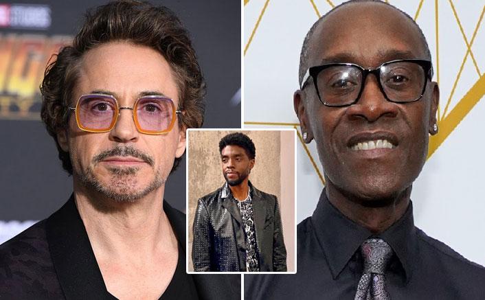 Robert Downey Jr., Don Cheadle honour Chadwick Boseman