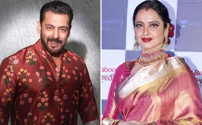 Salman Khan Was In Love With Veteran Actress Rekha