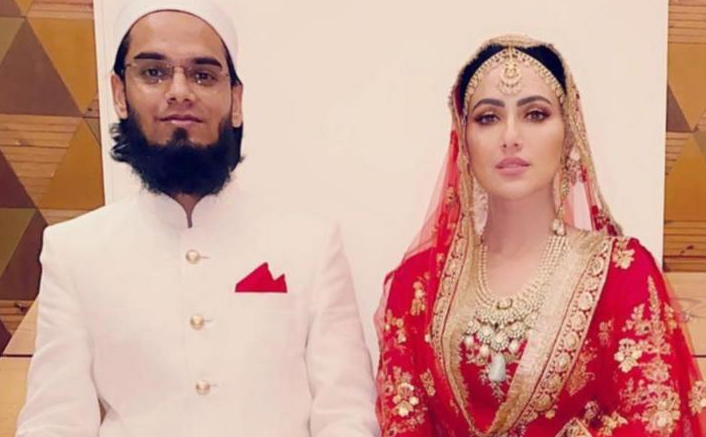 Just Like Us, Sana Khan's Hubby Too Was Shocked When She Quit Her Career