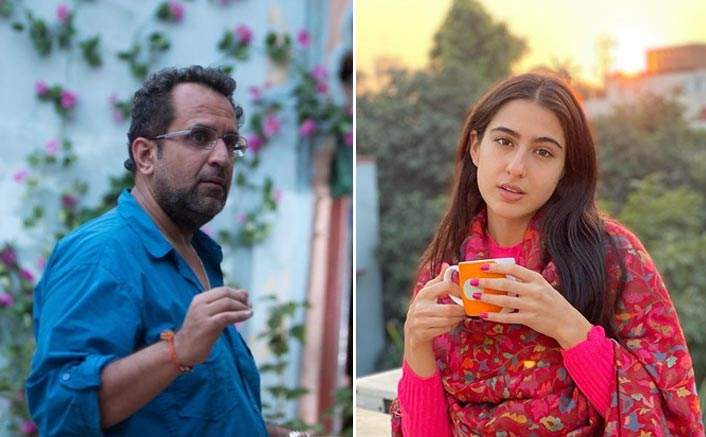 Sara Ali Khan Beats Delhi Winter With Hot Cup Of Chai Along With Aanand L Rai On The Sets Of Atrangi Re