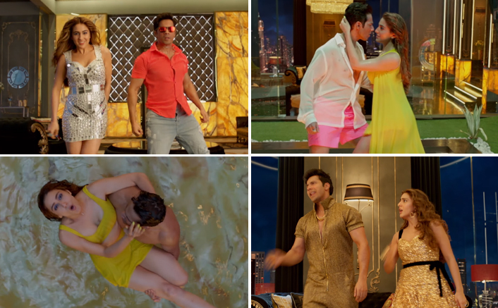 SARA ALI KHAN & VARUN DHAWAN SET THE FLOOR ON FIRE WITH THEIR CHEMISTRY IN 'HUSNN HAI SUHAANA' FROM COOLIE NO. 1