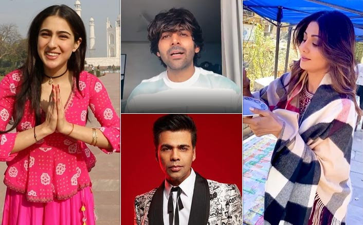 Sara Ali Khan's 'Namaste Darshako' To Kartik Aryan's 'Koki Puchega', Here Are 4 Social Media Segments Of Celebs Instagram Is Tripping On