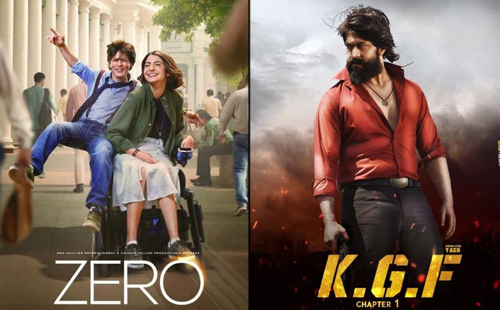 Shah Rukh Khan's Zero Vs Yash's KGF Chapter 1 - A Box Office Clash To Remember