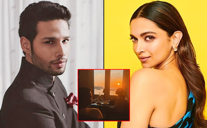 Siddhant Chaturvedi shares on his social media, a sunkissed supper with Deepika Padukone and Shakun Batra