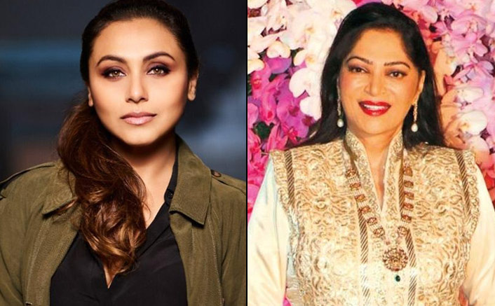 Simi Garewal & Rani Mukerji Are Related Owing To The Latters Marriage In The Chopra Family
