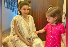 Soha Ali Khan Shared A Cute Picture Of Inaaya & Their Pet On Instagram