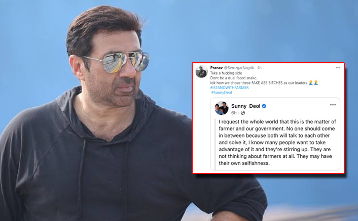 Sunny Deol Gets Trolled For His Post On Farmers' Protest