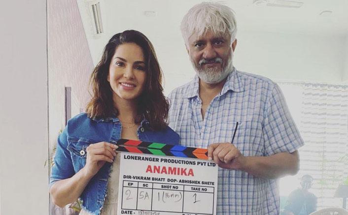 Sunny Leone starts shooting Vikram Bhatt web-series