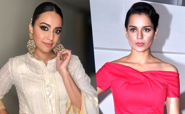 "Swara Bhaskar Again Slams Kangana Ranaut For Becoming ""Synonymous With Spewing Poisonous Fiction"""