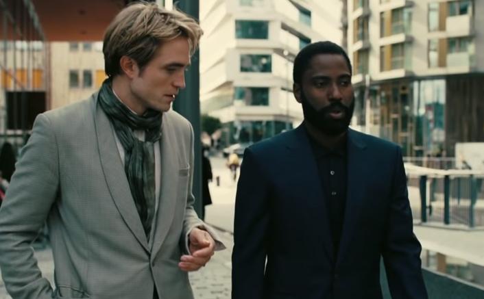 Tenet Movie Still Ft. Robert Pattinson & John David Washington