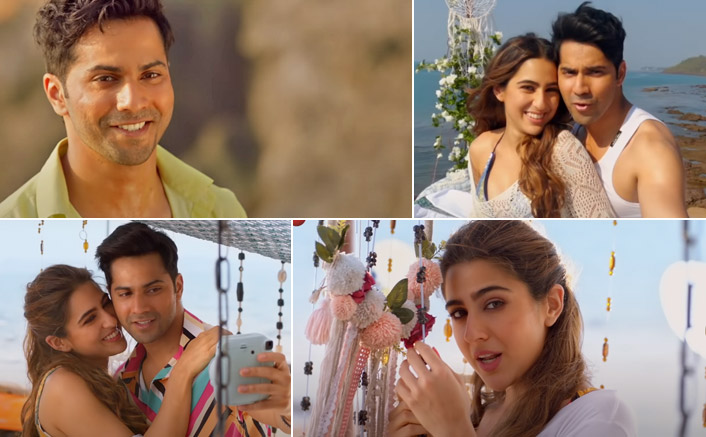 'Tere Siva' song is out now! Romance is in the air for Varun Dhawan and Sara Ali Khan in the new melodious track of Coolie No. 1