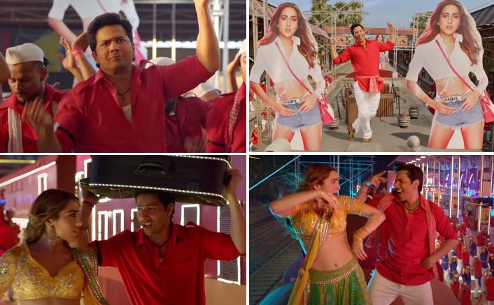 Coolie No 1 Song Teri Bhabhi Starring Varun Dhawan & Sara Ali Khan Out