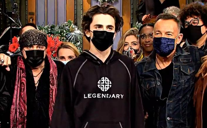 Timothée Chalamet Cryptically Shows His Dismay About Warner Bros?