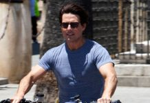 Tom Cruise In Shooting For Mission Impossible 7 In Rome