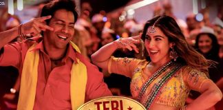 Varun-Sara's 'Teri bhabhi' song in Coolie No. 1 has a Badshah connect