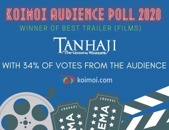 Result Of Koimoi Audience Poll 2020: Winner Of Best Trailer (Films) Is Tanhaji