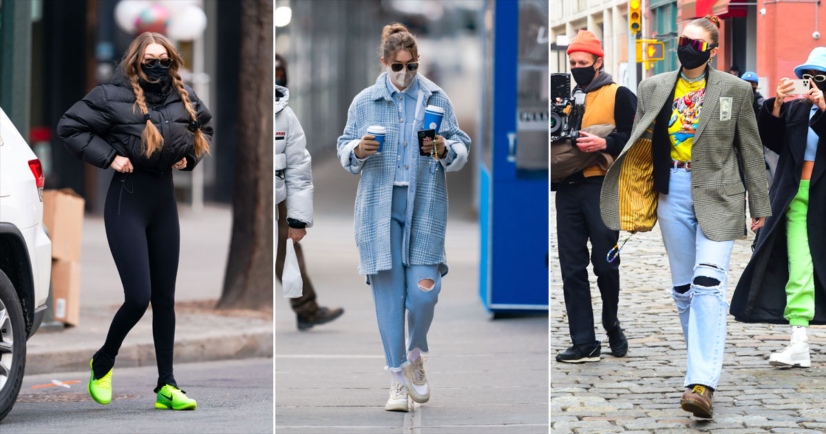 3 Looks From Gigi Hadid's Post-Pregnancy Fashion That Will Take Your Breath Away