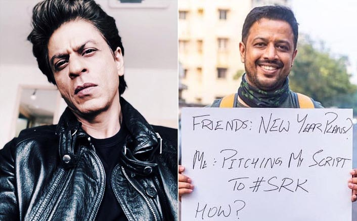 A Freelance Filmmaker Camping Outside Mannat To Get Shah Rukh Khan To Sign His Film