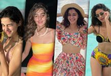 Ananya Panday's Maldives Wardrobe Is The Place Newlywed Brides Would Want To Hijack For Their Honeymoon Outfits