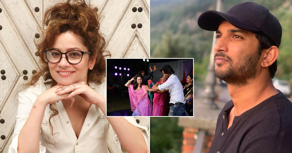 Ankita Lokhande Posts Unseen Pictures Of Sushant Singh Rajput & His Family While Interacting With Fans