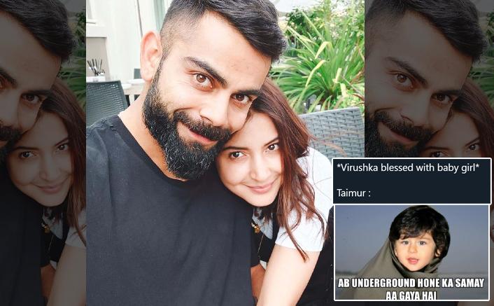 Anushka Sharma & Virat Kohli's Baby Welcomed With Hilarious Memes, Read On